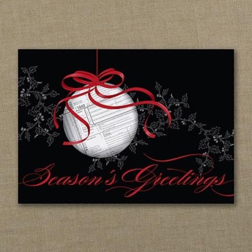 Christmas Accountant.Accountant Christmas Card Cpa Accountant Holiday Cards